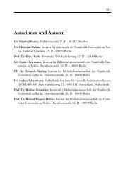 Autorinnen und Autoren - Gesellschaft für Wissenschaftsforschung
