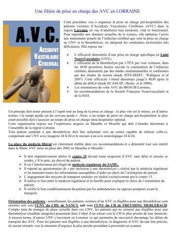 doc AVC Med libérale LORRAINE - COLMU