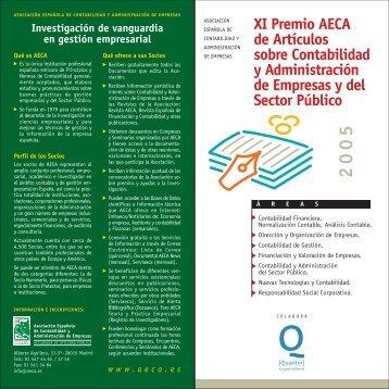 Bases Convocatoria - Asociación Española de Contabilidad y ...