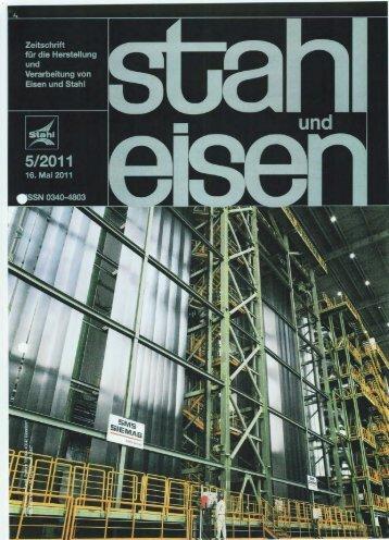 Fachbericht: Zeitung Stahl und Eisen - FK Industrieofenbau + ...