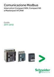 Scarica la Guida comunicazione Modbus - Schneider Electric