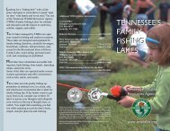 T L T M TENNESSEE'S FAMILY FISHING LAKES ... - TWRA
