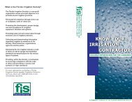 know your irrigation contractor know your irrigation contractor