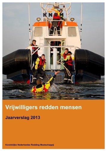 jaarverslag-2013-koninklijke-nederlandse-reddingsmaatschappij