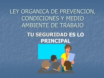 LOPCYMAT en las Empresas - Venezuela