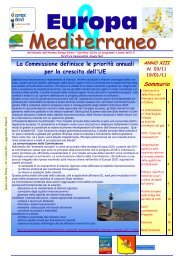 Europa & Mediterraneo n.3 - Comune di Alimena