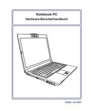 4 Benutzen des Notebook-PCs