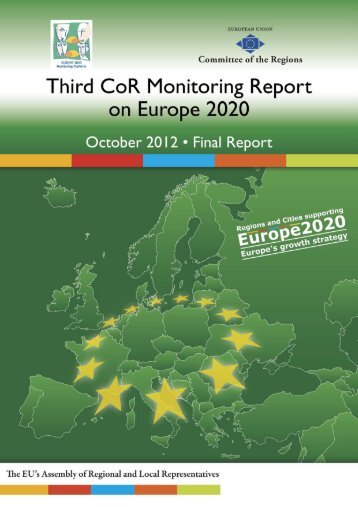 Third CoR Monitoring Report on Europe 2020 - Sign In - Europa