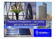 Research Perspective - Scottish Energy Systems Group