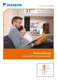 Daikin Heating Brochure 2012 - Artizan Heating