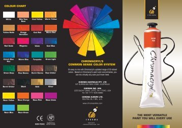 Chromacryl Colour Chart 484.00 kB