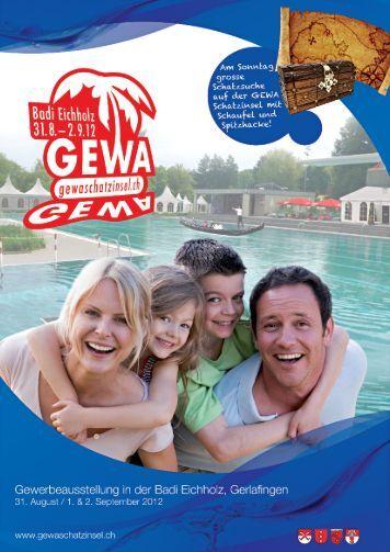 Broschüre GEWA Schatzinsel