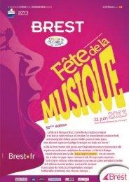 le programme 2013 (pdf) - Brest métropole océane