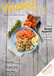 Guten Appetit! Infos über gesunde Ernährung. - Vinzenz Gruppe