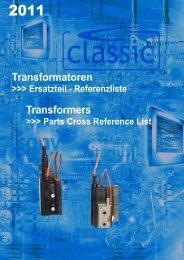 Transformatoren Transformers - Classic Service Parts