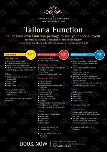 Tailor a Function