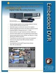 Digital Video Recording Solutions