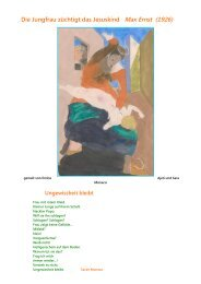 Die Jungfrau züchtigt das Jesuskind Max Ernst (1926)