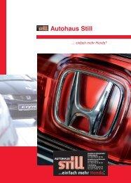einfach mehr Honda - Autohaus Honda Still
