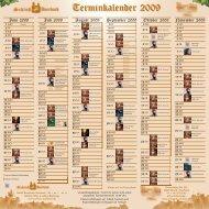 Terminkalender 2009 - Deutschland Gourmet