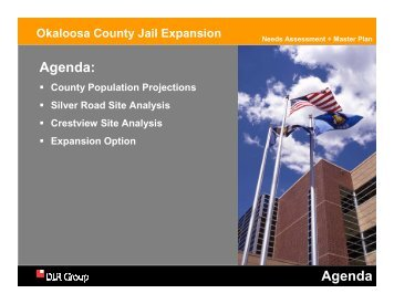 Planned Jail Expansion (PDF) - Okaloosa County