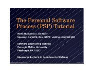 The Personal Software Process (PSP) Tutorial - SIGAda