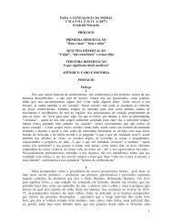 1 PARA A GENEALOGIA DA MORAL U M A P O L Ê M I C A (1877 ...