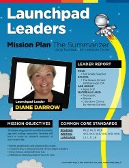 Mission Plan The Summarizer - Launchpad Toys