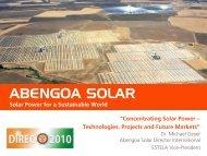 abengoa solar - Delhi International Renewable Energy Conference ...