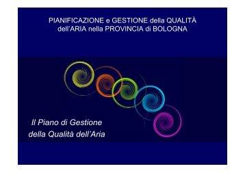 Conferenza di Pianificazione - Aria.provincia.bologna.it