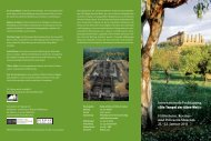 Internationale Fachtagung »Die Tempel der Alten Welt ... - Roemer