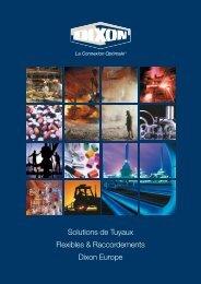 Solutions de Tuyaux Flexibles & Raccordements Dixon Europe
