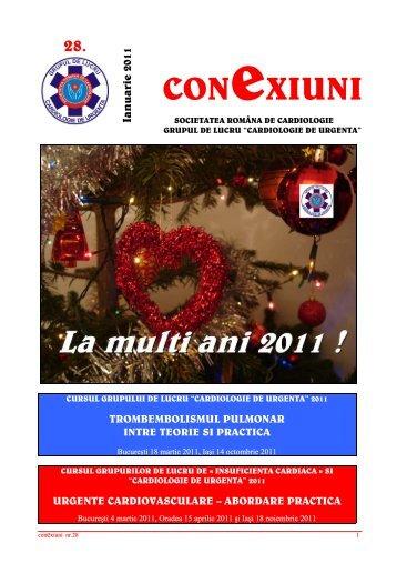 Newsletter nr. 28 - Societatea Romana de Cardiologie