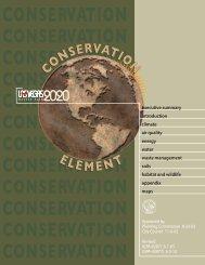 Conservation Element - City of Las Vegas