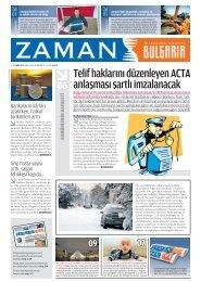 Sayı 6, 6 – 12 Şubat 2012 - Zaman Bulgaristan