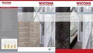 Wohlbefinden und Wirtschaftlichkeit - Wicona.ch