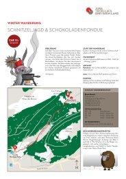 schnitzeljagd & schokoladenfondue - Jura & Drei-Seen-Land
