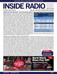 news INSIDE >> Tuesday, June 26, 2012