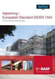 Europæisk Standard DS/EN 1504 - Basf