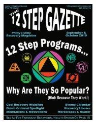 September & October 2010 - 12 Step Gazette