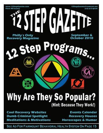 September & October 2010 - 12 Step Gazette