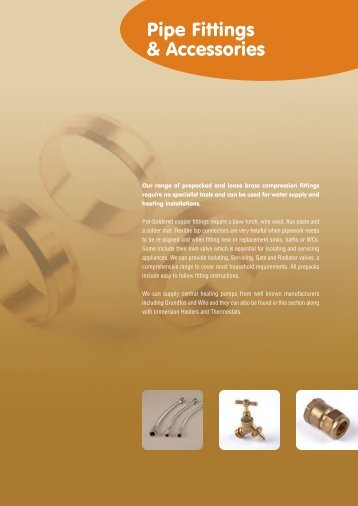 Pipe Fittings & Accessories - Polypipe
