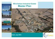 Winchelsea Industrial Estate Master Plan - Surf Coast Shire