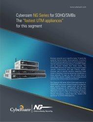 Cyberoam NG Series Brochure