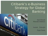 Citibank - Institute for Information Business