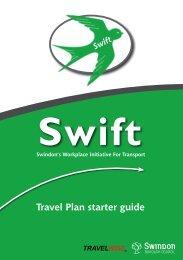 Travel Plan starter guide - Swindon Travel Choices
