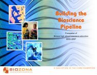 Building the Bioscience Pipeline