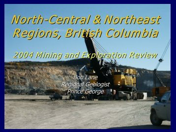 2004 Mining and Exploration Review - Minerals North
