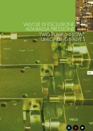unloading valves valvole di esclusione alta-bassa pressione - Total ...