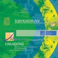 einladung antwortkarte - Gleichstellungsbüro der Leibniz Universität ...